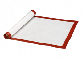 SILICONE AND FIBERGLASS MAT