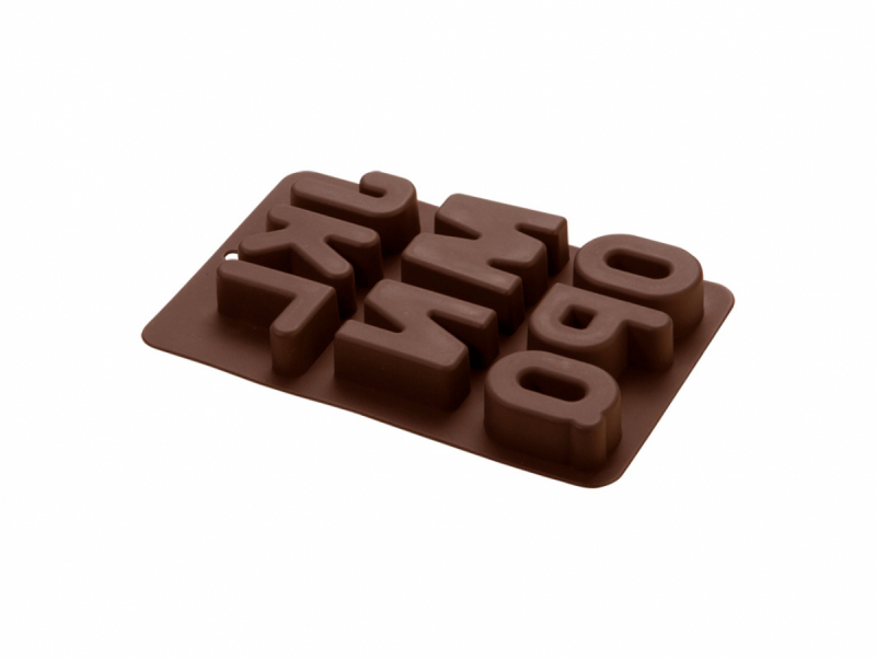ALPHABET CHOCOLATE MOLD (J-Q)
