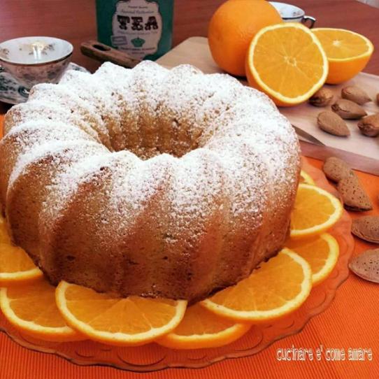 Gugelhupf mandorle e arancia