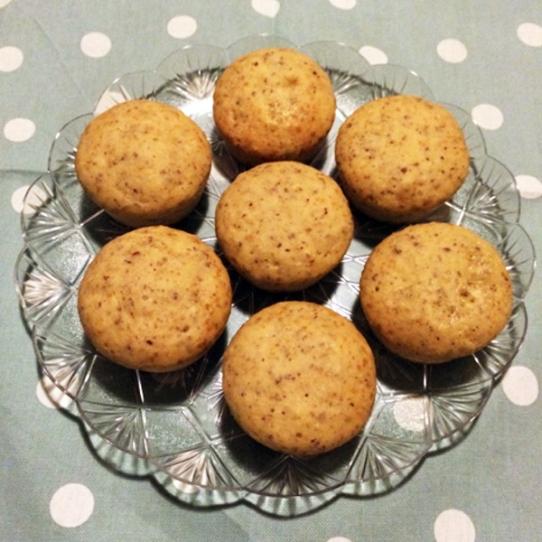 Muffin di nocciole