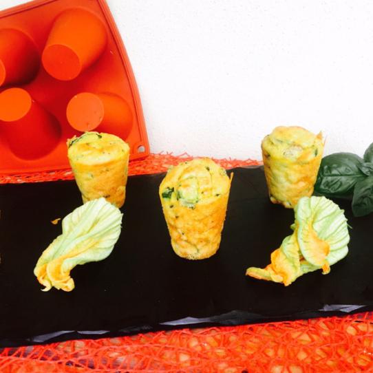Tortini alle zucchine